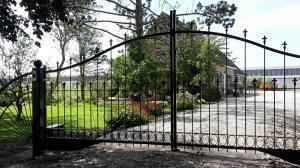 Prachtige automatische poort hekwerk