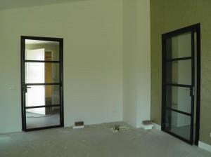Stalen deuren inclusief glas